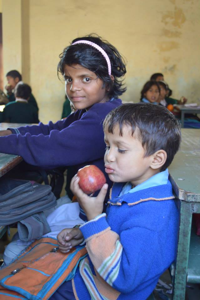 Fruit Distribution in Newly Adopted School (40)