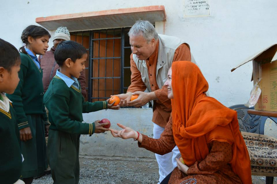 Fruit Distribution in Newly Adopted School (9)