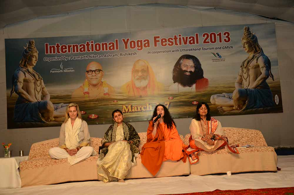 IYF 2013 - Embracing the Divine Feminine Panel (2)