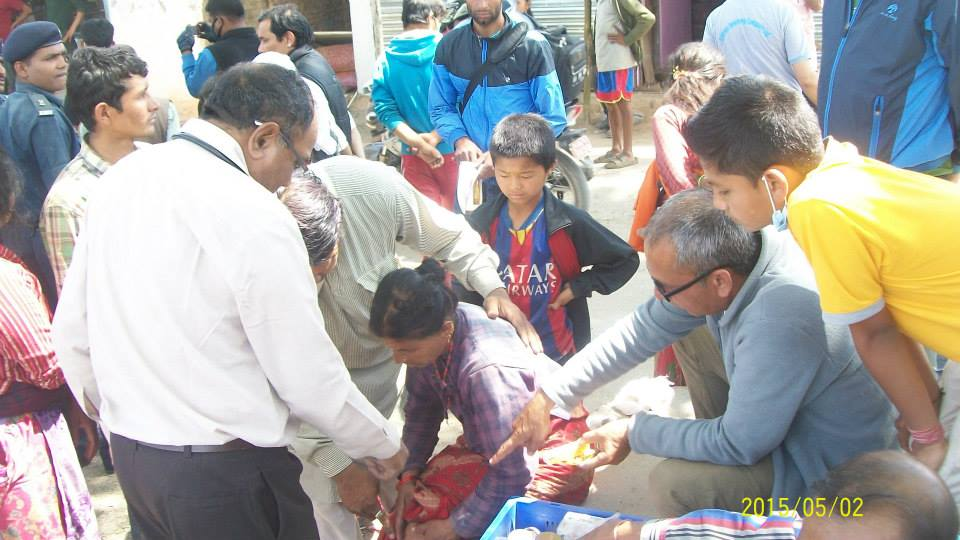 Immediate Relief for Nepal Earthquake (20)