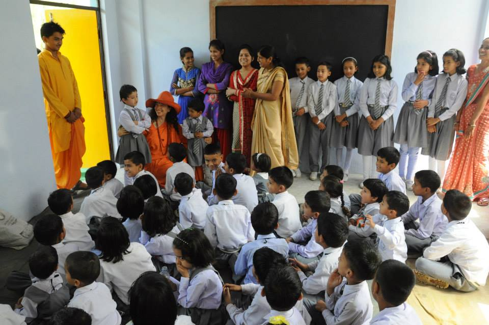 Inauguration of Divine Shakti Foundation's New Brightland School (4)