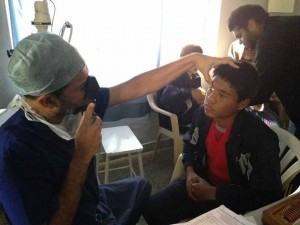 Giving Light of Vision Free Eye Camp at Parmarth (7)
